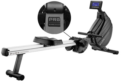 New Pure Design PR8 Air/Magnetic Resistant Rower with Auto Control Resistance