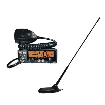 President Andy CB Radio and President New York Magnet Mount Antenna Combination