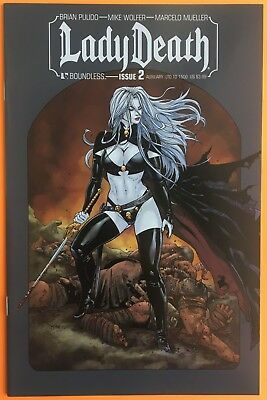 Lady Death 2 Auxiliary Variant Cover Boundless Comics