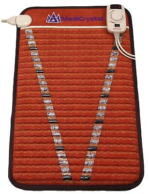 "Far Infrared 10hz PEMF Mini Mat 20""x32""- Amethyst - Tourmaline - FIR Heating Pad"