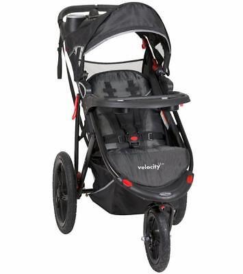 Three Wheel Jogging Stroller with MP3 and Built in Speakers