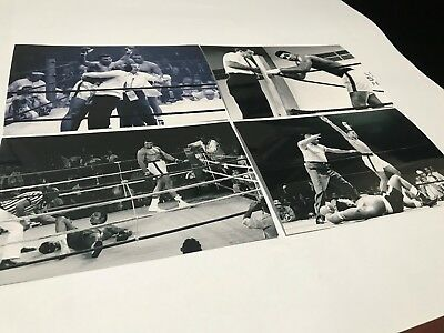20 Muhammad Ali Boxing 4X6 Gloss Photo Set New Not Signed Unsigned Cassius Clay