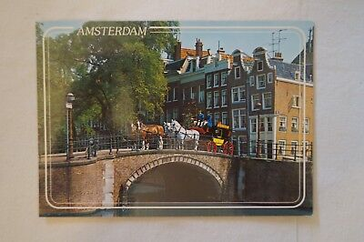 Amsterdam - Holland - Vintage - Collectable - Postcard.