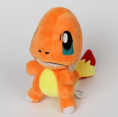 New Pokemon CHARMANDER Soft Plush Stuffed Animal Cuddly Figure Doll Toy Teddy 5""