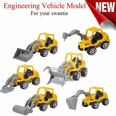 6 Types Truck Model Engineering Car Construction Vehicle Toy Kids Gift