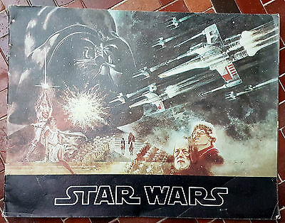 ORIGINAL 1977 STAR WARS 1st Edition SOUVENIR PROGRAMME!