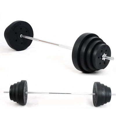 2X10KG Environmental protection heavy weight plastic dumbbell barbells