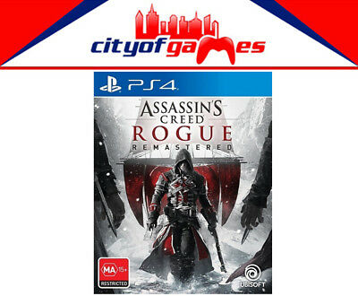 Assassins Creed Rogue Remastered PS4 Game New & Sealed Free Express In Stock