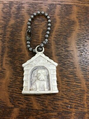 Vintage I'm In The Doghouse  Dog 🐶 Keychain