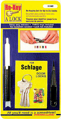 Rekeying Kit Schlage5Pin