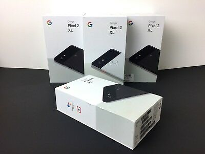 OEM Google Pixel 2 XL Empty Box ONLY 64GB /128GB No Phone, No Manual, No Access
