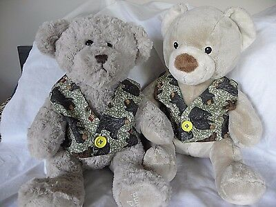 Clothes to fit 15 inch Pumpkin Patch teddy  boys waistcoat build a bear