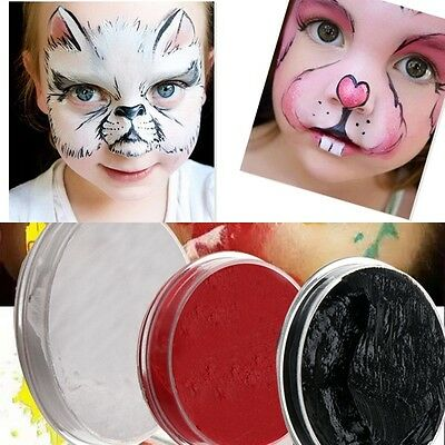 6ml Make Up Face Body Paint Color Palette Fun Halloween Party Fancy Painti Uxym