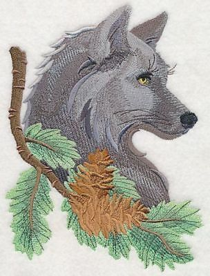 """Wolf, Wolves, Embroidered Patch 5.7""""x 7.8"""""""
