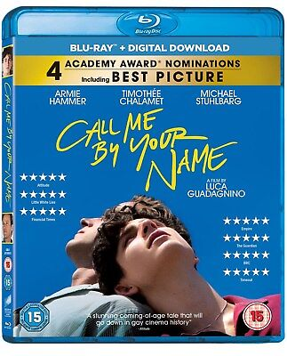 Call Me By Your Name (with UltraViolet Copy) [Blu-ray]