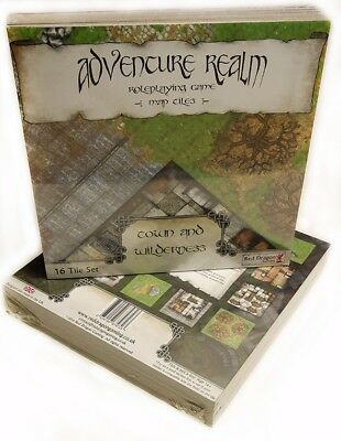 Awesome RPG Map Tiles - Adventure Realm: Town and Wilderness Set
