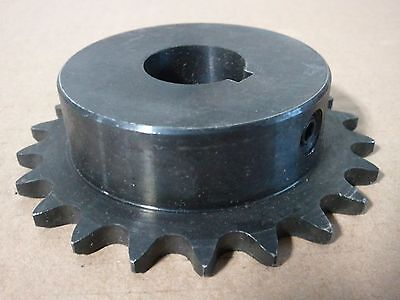 "40B18 Sprocket    #40 Chain  18 Tooth  3/4"" Bore  With Key Way"