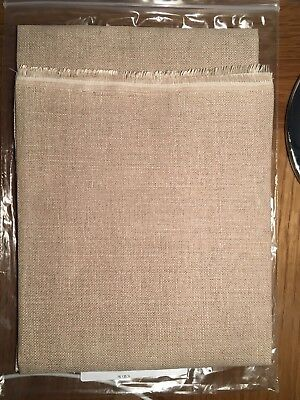 28 CT. Permin / Wichelt linen Cross stitch fabric 135 - Lambswool 55 x 70cms