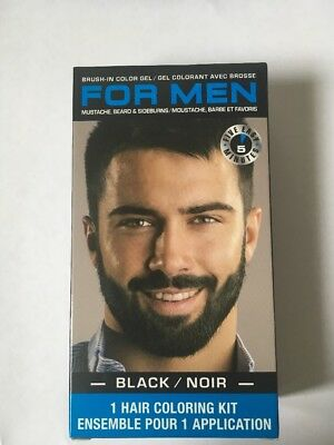 MEN BRUSH IN Mustache Beard Hair Sideburns Color Compare To Just For ...