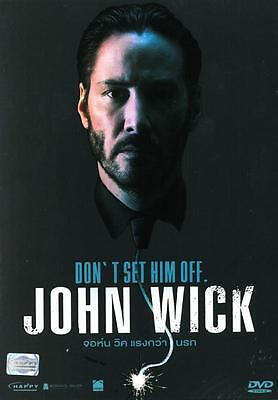 John Wick - DVD PAL COLOR - Keanu Reeves, Michael Nyqvist, Violent Mob Thriller