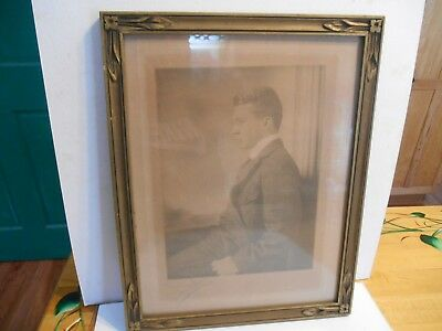 vintage old custom hand made picture frame look at all photos art deco