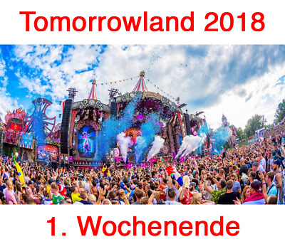 4x tomorrowland 2018 magnificent greens full madness dreamville eur picclick it. Black Bedroom Furniture Sets. Home Design Ideas