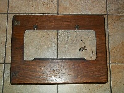 Antique Singer Treadle Sewing Machine Cabinet Wood Support Pieces - Tiger Oak