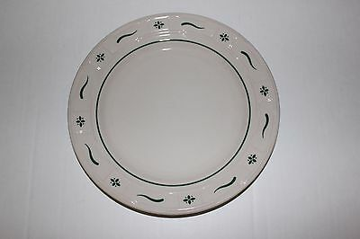 Longaberger Pottery Dinner Plate Heritage Green USA Replacement Plate