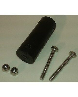 Windsurfing Urethane tendon joint 20mm with screws and Nylstop nuts