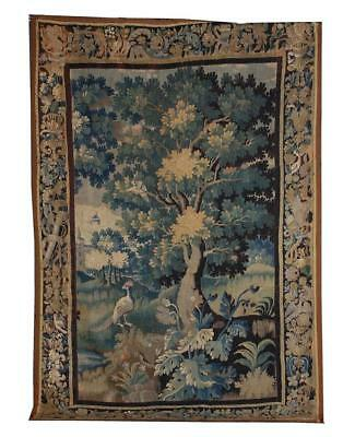 Flemish verdure tapestry panel Lot 216