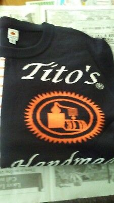 Titos Handmade Vodka Human Sweater Size X-Large