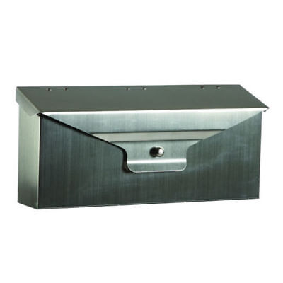 Gibraltar Stainless Steel D'Elegance Wall Mounted Mail Box DWHOSS01 NEW