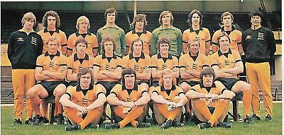 Wolverhampton Wanderers 1976-77 Team Photo Print.