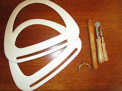 Plastic Hand Bag , Tote, Knitting Bags  Handles -  & Assorted Craft,crochet New