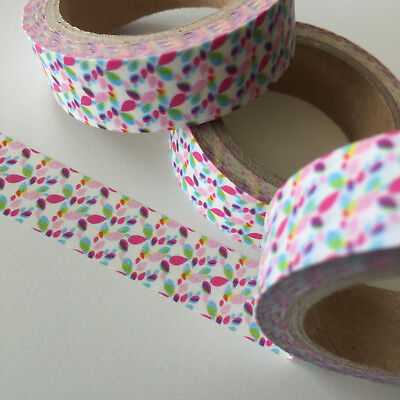 Washi Tape Kaleidoscope 15Mm X 10Mtr Roll Planner Wrap Craft Scrap