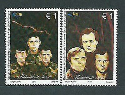 Kosovo Independence - Mail Yvert 101/2 Mnh Characters