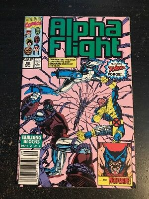 Alpha Flight#88 Incredible Condition 9.4(1990) Forge,Wolverine!!