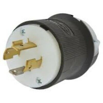 Hubbell HBL2411 20A 120/250 Volt L14-20P Heavy Duty Industrial Commercial Plug