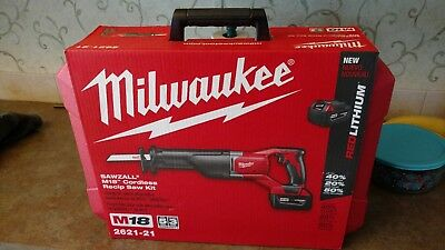 Milwaukee M18 SAWZALL Reciprocating Saw Kit 18-Volt Lithium-Ion Cordless Case
