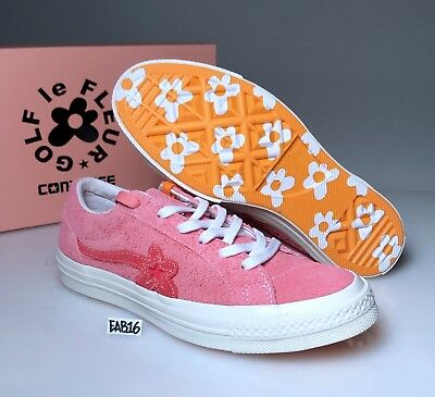 CONVERSE ONE STAR X GOLF WANG LE FLEUR SUEDE Geranium Pink Tyler The Creator