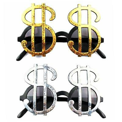 American Dollar Currency Symbol Glasses Novelty glasses Pimp kid TOY Fancy Hot