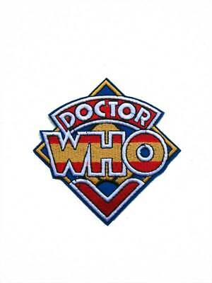 Dr Who Logo Embroidered and Iron on Patch