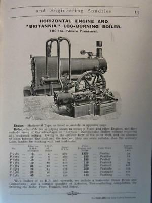 1908 Veritys Electric Supplies  Engines, Dynamos, Oil & Gas Plants, Steam Engine