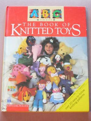 ABC for Kids Book of KNITTED TOYS Robyn Earl-Peacock SC 20+ knitting patterns HB