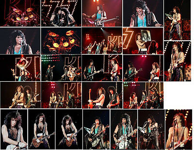 210 Kiss Colour Colour Concert Photos - Wembley 1980 &1984