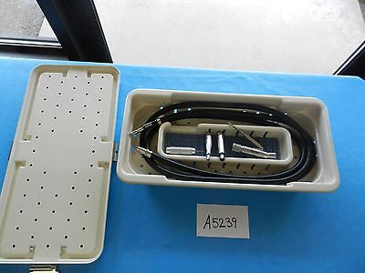 MicroAire Surgical Orthopedic Motor Sagittal Reciprocating Saw W/Hose & Case
