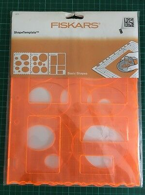 fiskars shape template circles shapecutter circle crafting lightly