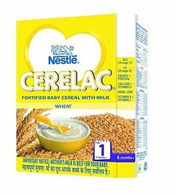 Nestlé CERELAC Infant Cereal Stage-1 (6 Months-24 Months) Wheat 300g