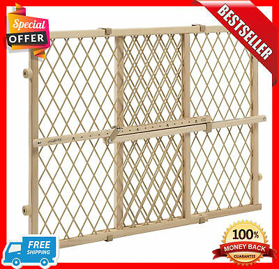 Wood Lock Position And Gate Tan Evenflo Baby Safety Pet Child Dog Door Infant