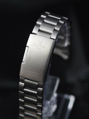 20mm stainless steel band bracelet for Alpha watch
